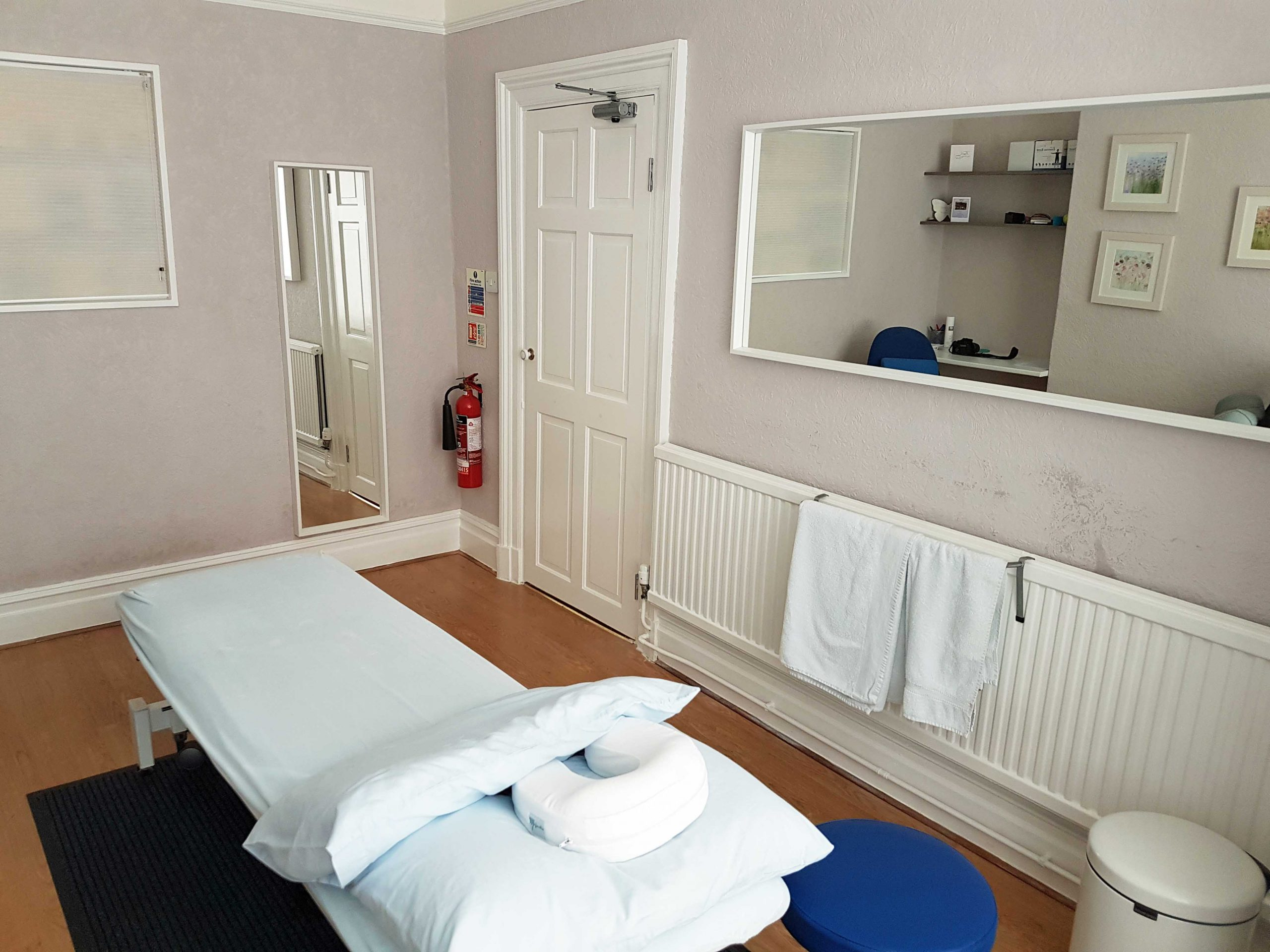 Interior of Oxford Clinic treatment room